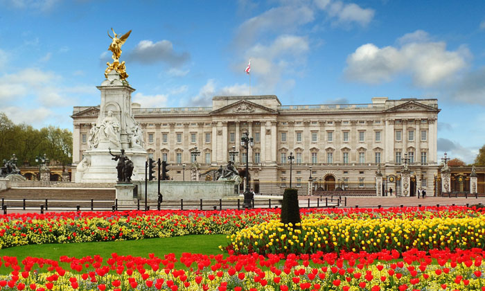 Букингемский дворец Лондона