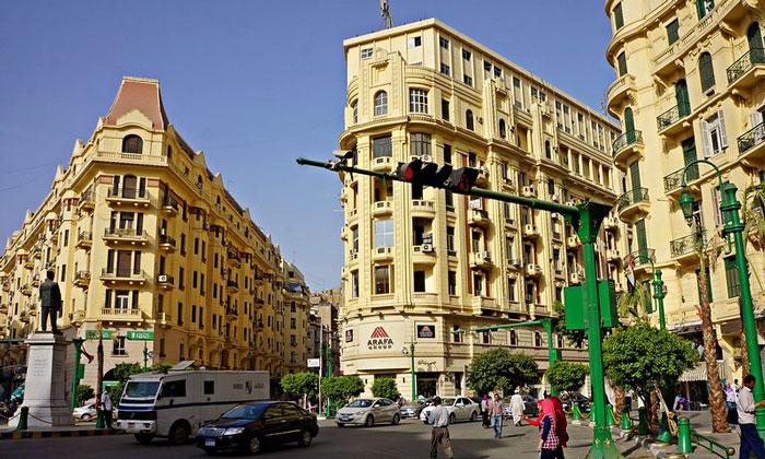 Площадь Талааб Харб в Каире