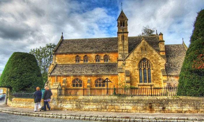 Церковь Чиппинг Кэмпдена в Англии