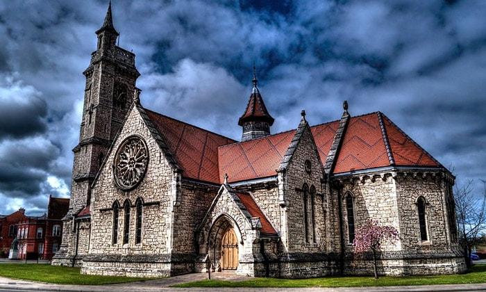 Церковь Христа в городе Хартлпул