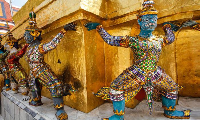 Фигуры Большого дворца (Бангкок)