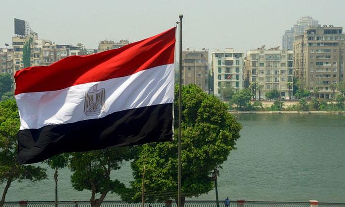 Флаг Египта (Каир)