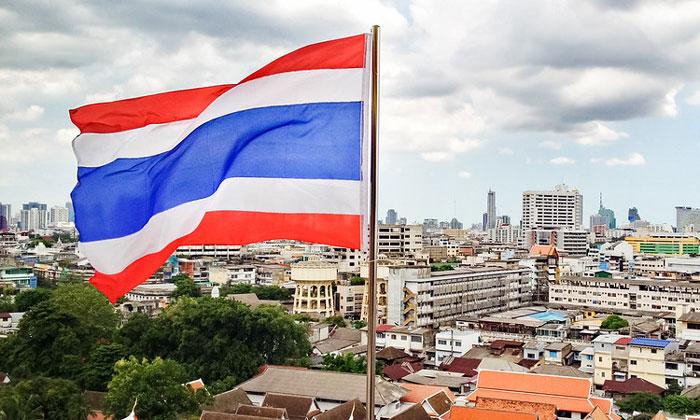 Флаг Таиланда (Бангкок)