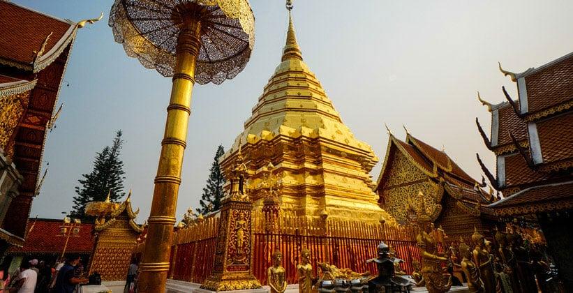 Монастырь Ват Пхра Тхат Дой Сутхеп