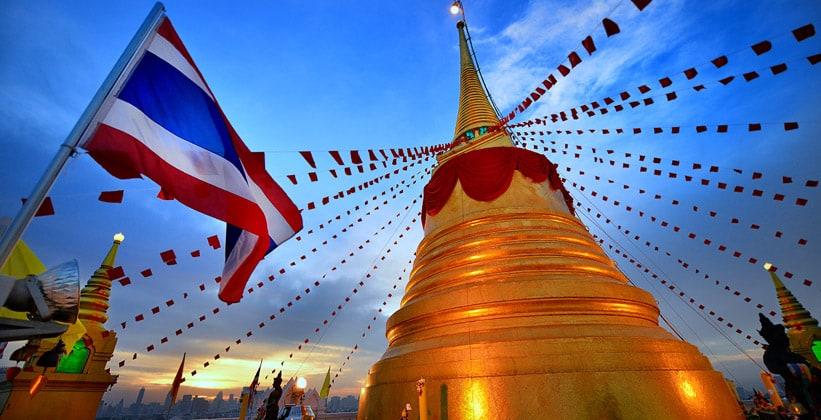 Золотая ступа Бангкока