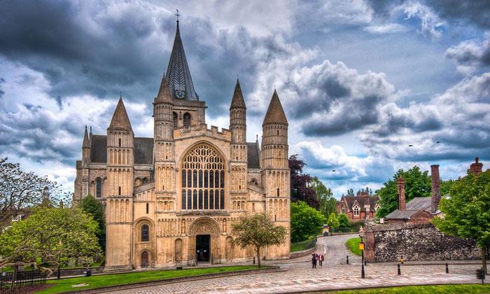 Рочестерский собор в Англии