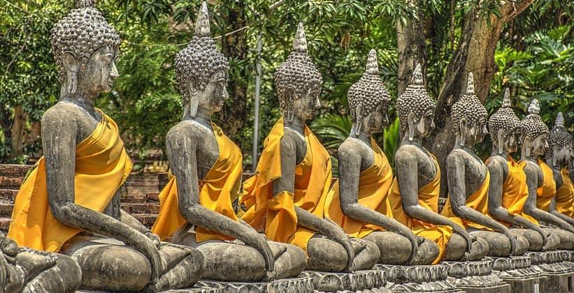 Статуи Будды (город Аюттхая)