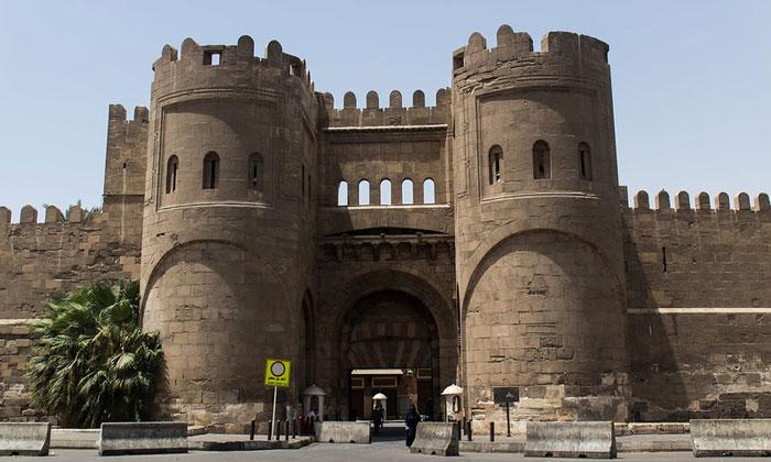 Ворота Завоеваний (Баб аль Футух) в Каире