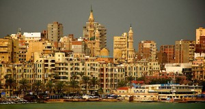 Египетский город Александрия