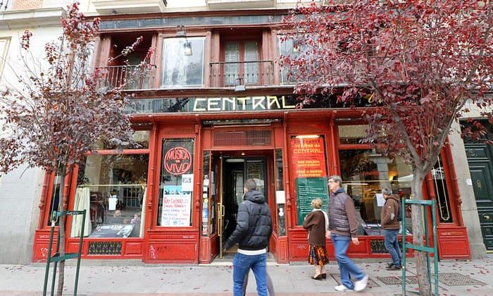 Джаз-кафеCentral в Мадриде
