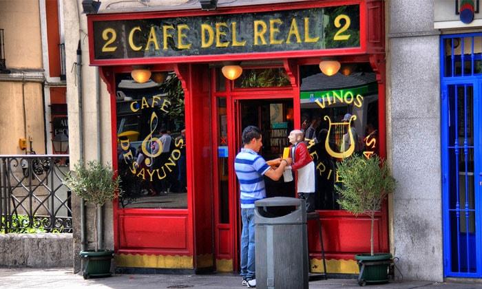 Кафе del Real в Мадриде