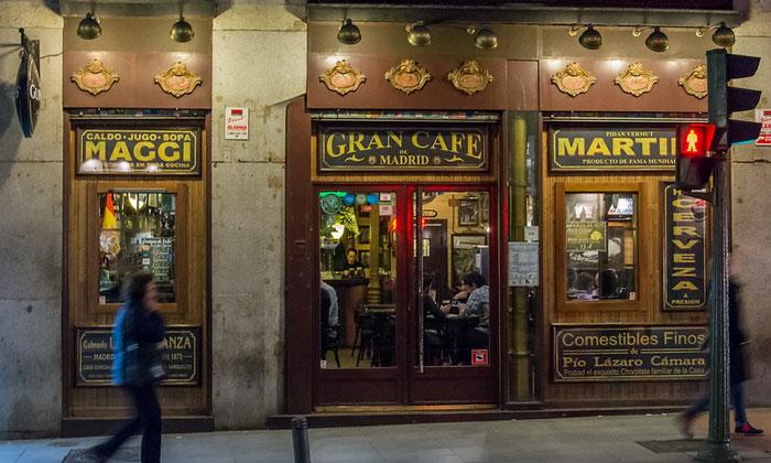 Кафе Gran в Мадриде