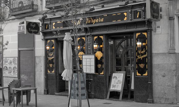 Кафе Vergara в Мадриде