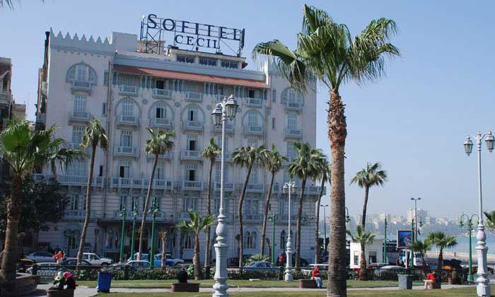 Отель Cecil в Александрии