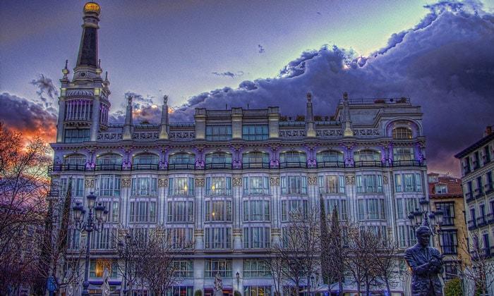 Отель Reina Victoria (Мадрид)