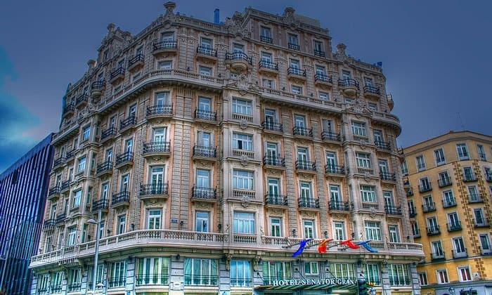 Отель Senator в Мадриде