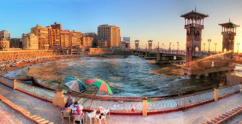 Панорама Александрии