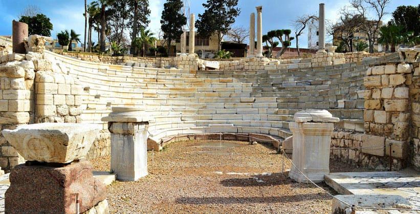 Римский амфитеатр Александрии
