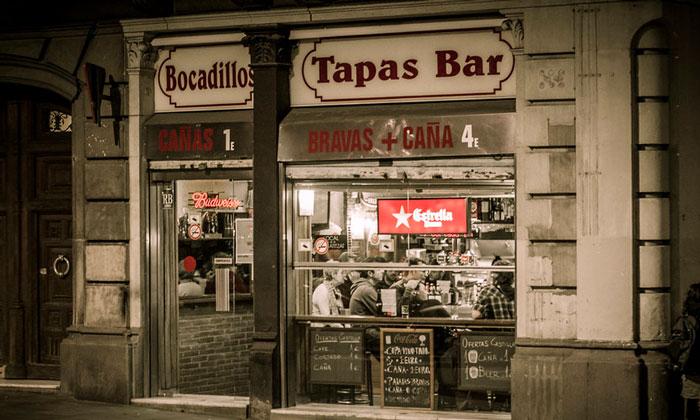Бар «Bocadillos» в Барселоне