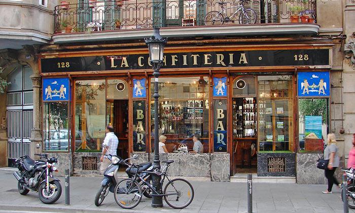 Бар La Confiteria в Барселоне