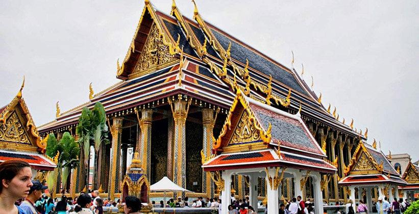 Бот Изумрудного Будды в Бангкоке
