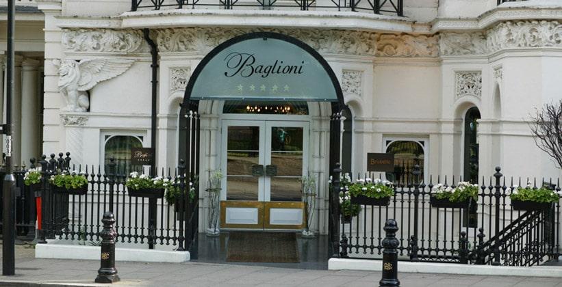 Отель Baglioni в Лондоне