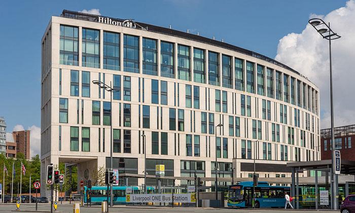 Отель «Hilton» в Ливерпуле