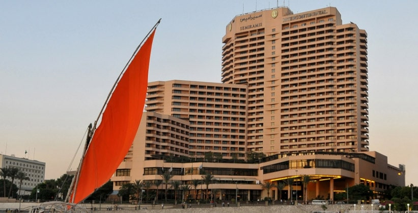Отель Inter Continental Semiramis в Каире