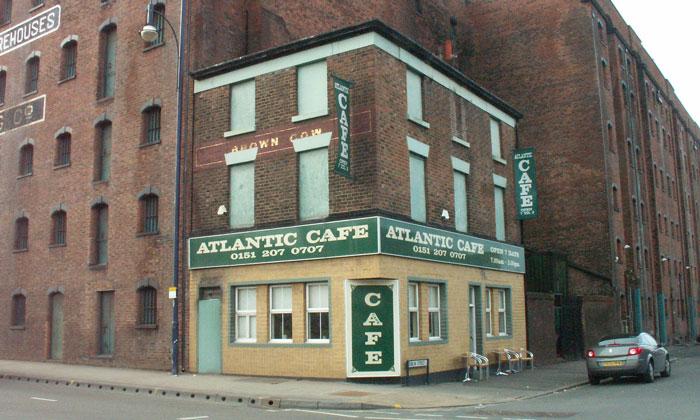 Кафе «Atlantic» в Ливерпуле
