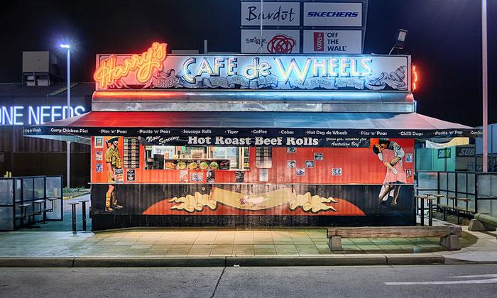 Cafe de Wheels в Ливерпуле