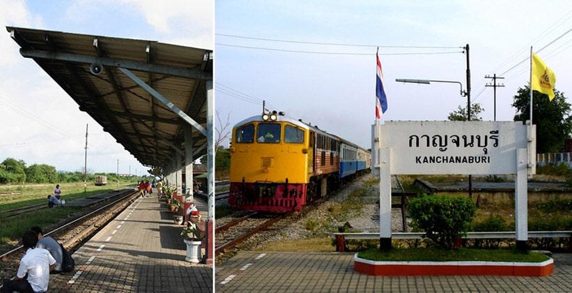 Город Канчанабури в Таиланде