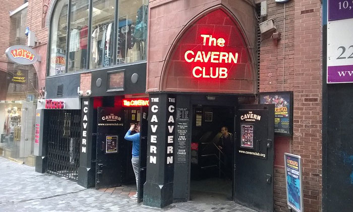 Клуб «Каверн» в Ливерпуле