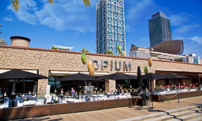 Ночной клуб Opium в Барселоне