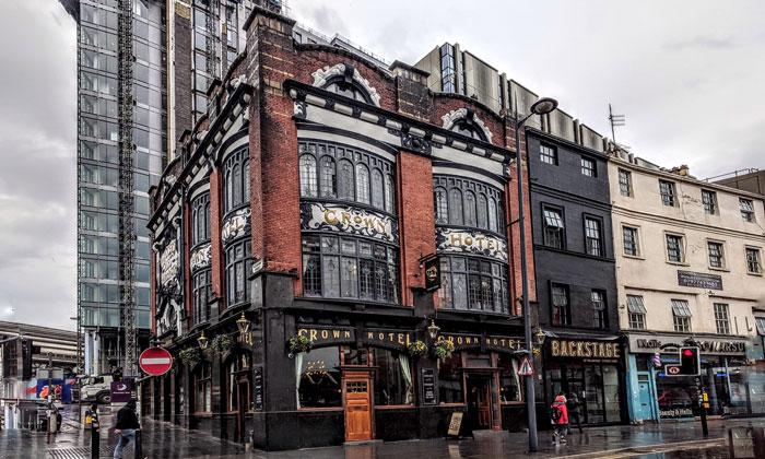 Отель «Crown» в Ливерпуле