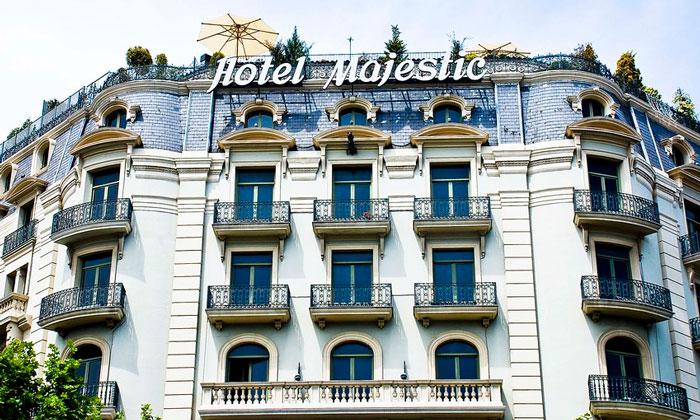 Отель Majestic в Барселоне