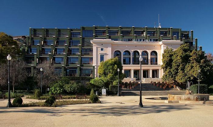 Отель Miramar в Барселоне
