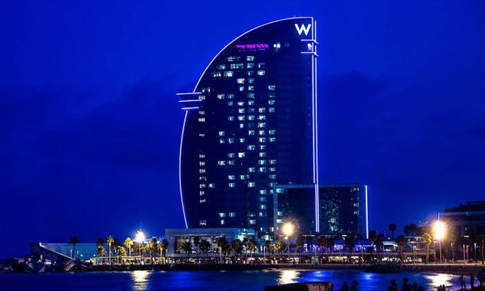 Отель W в Барселоне