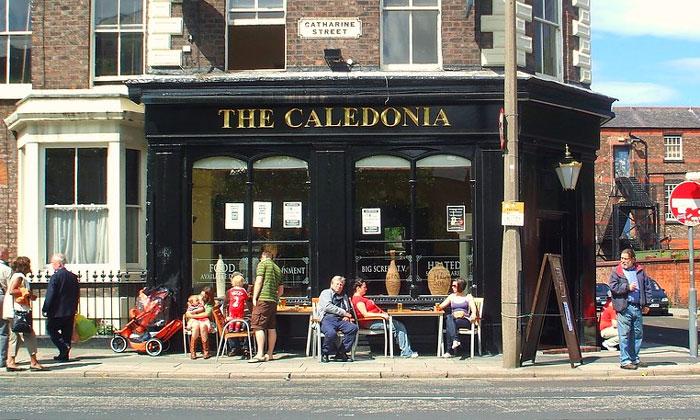 Паб «Caledonia» в Ливерпуле