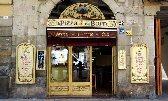 Пиццерия la Pizza del Born в Барселоне