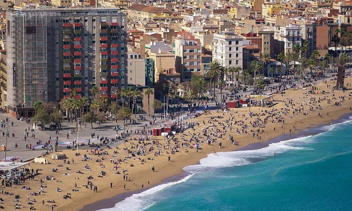 Пляж «Барселонета»