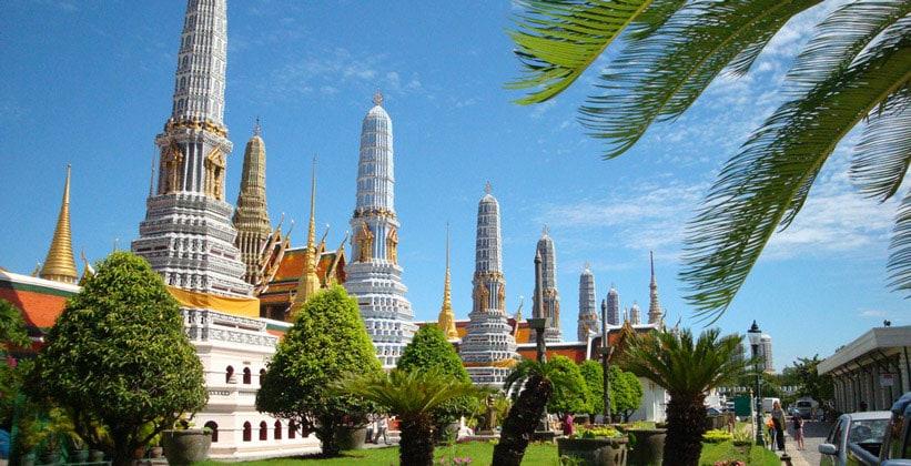 Пранги Храма Изумрудного Будды