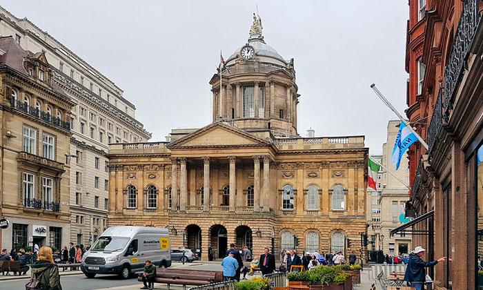 Городская ратуша Ливерпуля