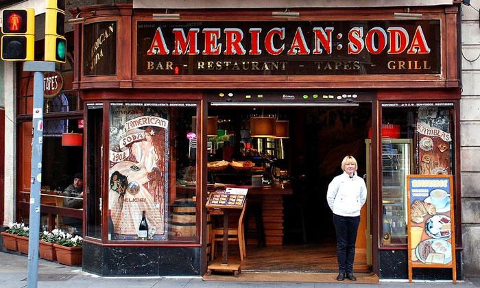 Ресторан «American Soda» в Барселоне