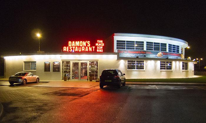 Ресторан «Damon's» в Ливерпуле