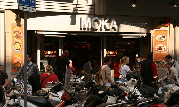 Кафе-ресторан «Moka» в Барселоне