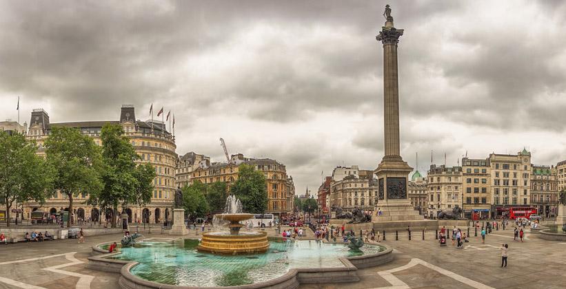 Трафальгарская площадь Лондона