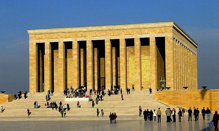 Аныткабир (мавзолей Ататюрка) в Анкаре