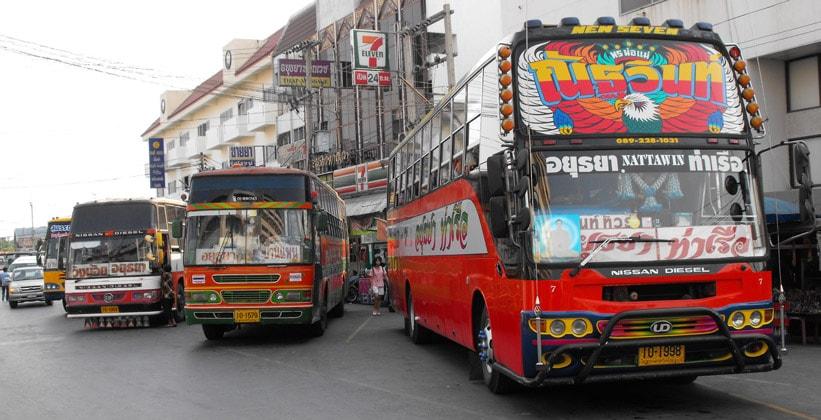 Автобусы Аюттхаи