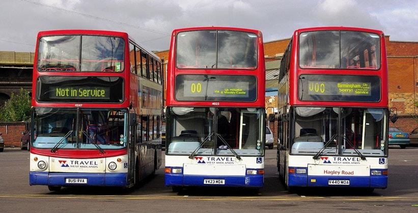 Муниципальные автобусы Бирмингема