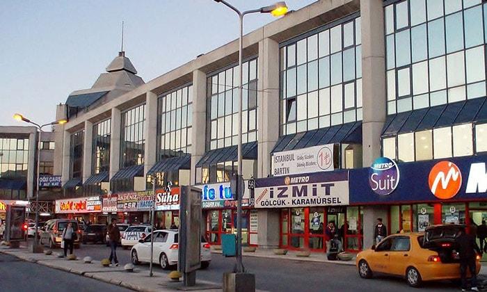 Автовокзал Эсенлер в Стамбуле
